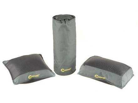 Caldwell Universal Deluxe Bench Bag Combination (Elbow, Optimizer, Tall Boy) Nylon and Leather Filled