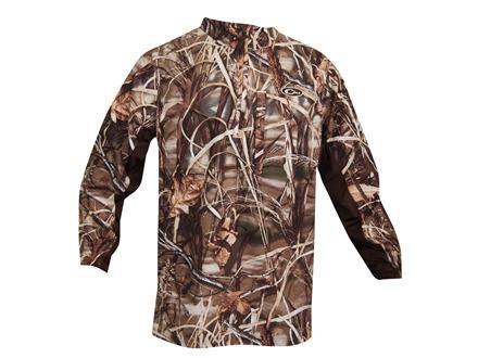Drake Men's EST 1/4 Zip Pullover Polyester