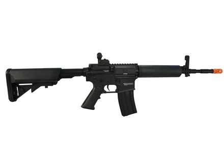 AfterMath Kirenex Pro Airsoft Rifle 6mm Blowback Semi-Automatic Polymer Black