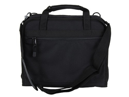 """CED Concealed Carry Attache Case 13-1/4"""" x 10-1/2"""" x 5"""" Nylon Black"""