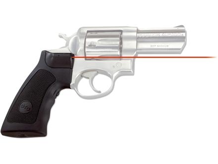 Crimson Trace Lasergrips Ruger Super Redhawk, GP-100 Polymer Black