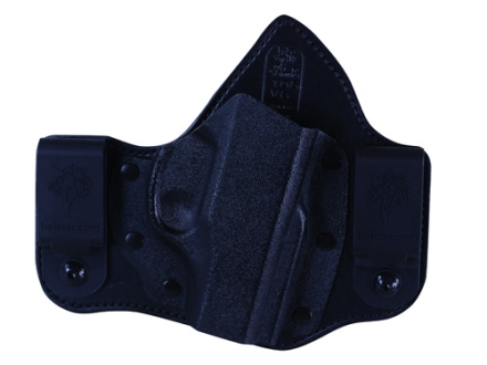 DeSantis Intruder Inside the Waistband Holster Right Hand Ruger LC9 Kydex and Leather Black