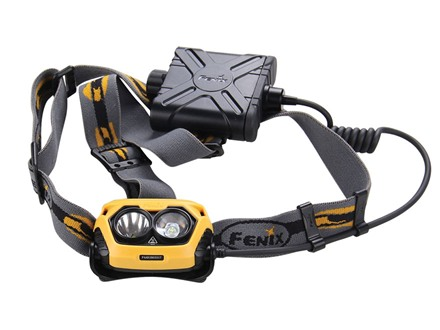 Fenix HP25 Headlamp LED with 4 AA Batteries Aluminum/Plastic Yellow