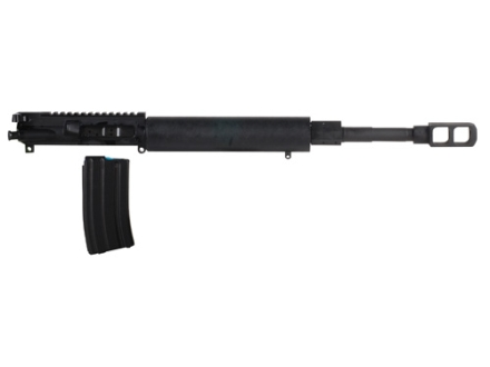 "Alexander Arms AR-15 A3 Precision Upper Assembly 50 Beowulf 1 in 20"" Twist 16.5"" Barrel Matte with Free Float Tube Handguard, Tank Muzzle Brake, 7-Round Magazine"