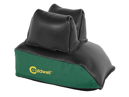 Caldwell Universal Deluxe Rear Shooting Rest Bag Nylon and Leather Unfilled