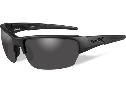 Wiley X Black Ops WX Saint Sunglasses Smoke Gray Lens