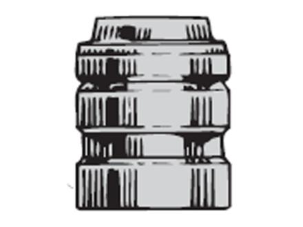 Saeco 3-Cavity Bullet Mold #453 45 Caliber (452 Diameter) 225 Grain Wadcutter