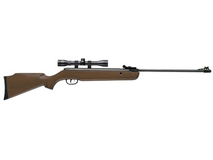 Crosman Vantage Nitro Piston Break Barrel Air Rifle 177 Caliber Pellet Hardwood Stock Blued Barrel with 4x32mm Scope