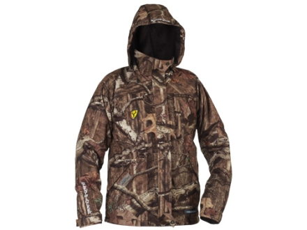 ScentBlocker Men's Triple Threat Waterproof Jacket Polyester Mossy Oak Break-Up Infinity Camo 2XL 50-52