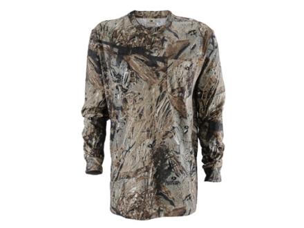 Russell Outdoors Men's Explorer T-Shirt Long Sleeve Cotton
