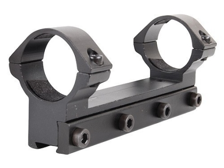 RWS Lock Down Scope Mount with Inegral 30mm Rings Rimfire and Airgun Gloss