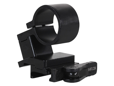 American Defense AD-SM-01 Magnifier Swing Mount with Quick-Release Picatinny-Style Mount Matte