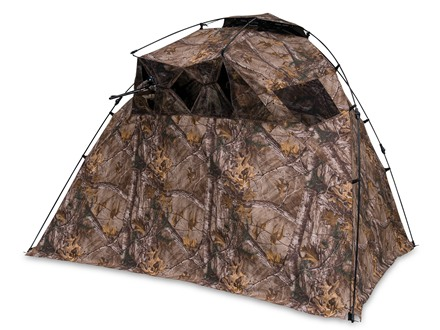 "Ameristep Lightspeed Razor Ground Blind 98"" x 60"" x 60"" Polyester Realtree Xtra Camo"