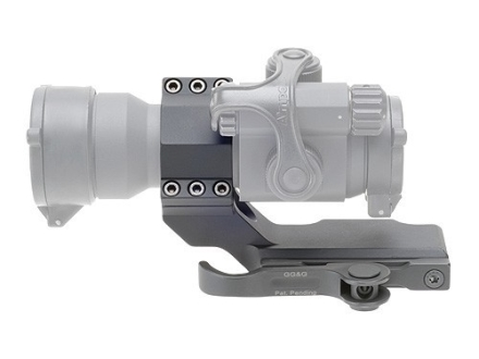 GG&G Accucam Quick-Detach Cantilever Aimpoint Scope Mount with Integral 30mm Ring Picatinny-Style Matte