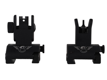 Wilson Combat Quick Detachable Front and Rear Sight with CSAT Aperture Steel Matte