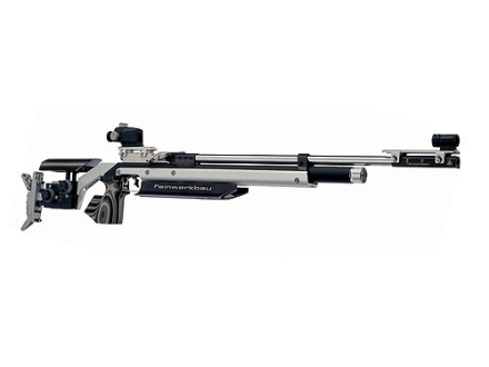 Feinwerkbau 700 Air Rifle 177 Caliber Laminated Wood and Silver Aluminum Stock Stainless Steel Barrel