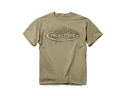 Team Realtree Men's Camo Oval Logo Short Sleeve T-Shirt