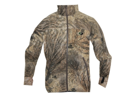 APX G2 Men's Level 3 Scent Stop Fleece Jacket Polyester Mossy Oak Brush Camo Medium 38-40