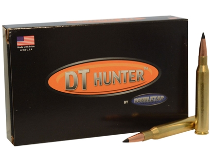 Doubletap Ammunition 300 Remington Ultra Magnum 180 Grain Nosler AccuBond Spitzer Box of 20