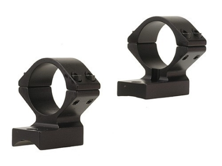 "Talley Lightweight 2-Piece Scope Mounts with Integral 1"" Rings Weatherby Lightweight Matte Low"