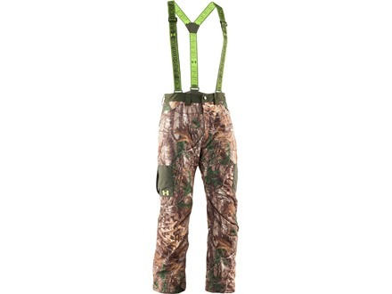 Under Armour Men's Gunpowder Scent Control Waterproof Insulated Pants Polyester Realtree Xtra Camo 36 Waist