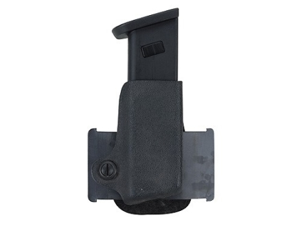 Safariland 074 Single Paddle Magazine Pouch Right Hand Beretta 92F, HK P7, Kahr E9, K9, Sig Sauer P225, P239, S&W 39, 439, 639 Polymer Black