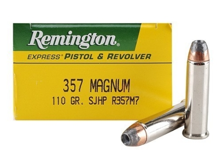 Remington Express Ammunition 357 Magnum 110 Grain Semi-Jacketed Hollow Point Box of 50
