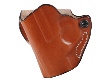 DeSantis Mini Scabbard Outside the Waistband Holster Left Hand Beretta Nano Leather Tan