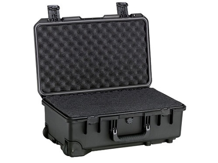 "Storm 2500 Carry On Case with Pre-Scored Foam Insert and Wheels 20-1/2"" x 11-1/2"" x 7"" Polymer Black"