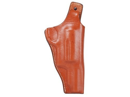 "Hunter High Ride Concealment Belt Holster Right Hand Taurus Judge 3"" Chamber 3"" Barrel Leather Brown"