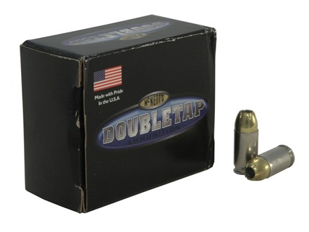 Doubletap Ammunition 380 ACP 95 Grain Controlled Expansion Jacketed Hollow Point Box of 20