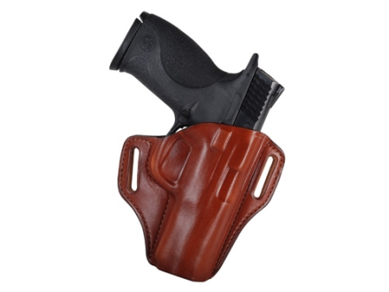 Bianchi 57 Remedy Outside the Waistband Holster Right Hand Smith & Wesson M&P 9mm, 40 Leather Tan