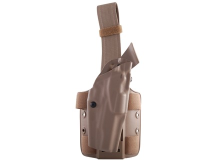 Safariland 6354 ALS Tactical Drop Leg Holster Right Hand 1911 Government Polymer Flat Dark Earth