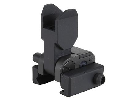 GG&G Spring-Actuated Flip-Up Front Sight Handguard Height AR-15 Aluminum Matte