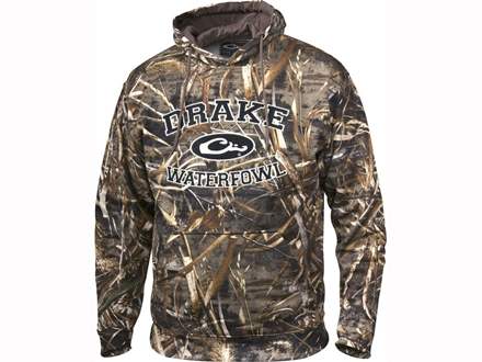 Drake Men's Logo Hooded Sweatshirt Cotton Polyester Blend