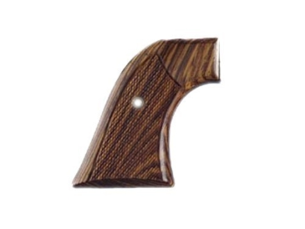 Hogue Cowboy Grips Ruger Blackhawk, Single Six, Vaquero Checkered Cocobolo
