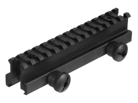 Leapers UTG Deluxe High Profile Picatinny-Style See-Thru Riser Mount AR-15 Flat-Top Matte