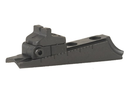 Remington Rear Sight Assembly Remington 700, 870 less Base Screws