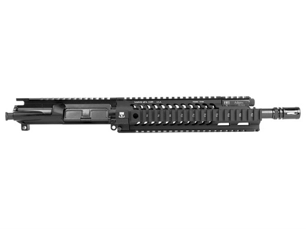 "Adams Arms AR-15 Pistol A3 Tactical Elite Carbine Gas Piston Upper Assembly 5.56x45mm NATO 1 in 7"" Twist 11.5"" Barrel Melonite Finish with 10"" Extended Free Float Quad Rail Handguard, Flash Hider"