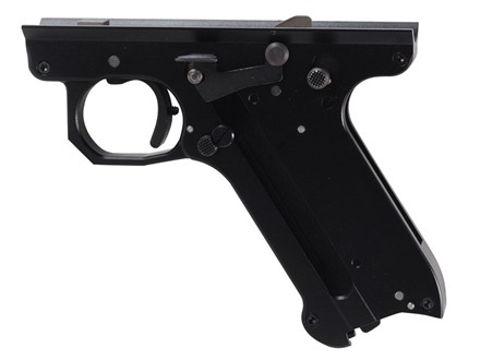 Volquartsen Lightweight Replacement Frame Assembled with Volquartsen Internal Parts Ruger Mark II, Mark III Aluminum Black