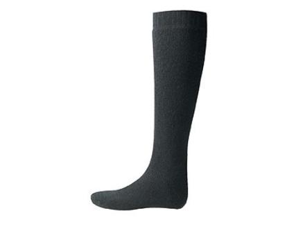 Wool Power Men's 600 Gram Over the Calf Socks Wool Black Large (7-10)