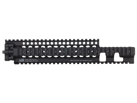 Daniel Defense Lite Rail 12.0 FSPM Free Float Tube Handguard Quad Rail AR-15 Extended Mid Length Aluminum Black