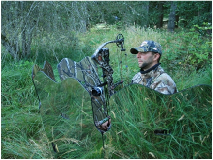 GhostBlind Predator 4-Panel Mirror Ground Blind