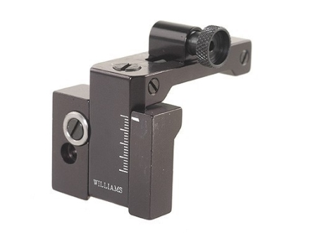 Williams FP-11/87 Receiver Peep Sight Remington 870,1100,11-87, Browning BPS, Ruger Mini-14 Ranch Rifle Aluminum Black
