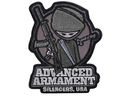 Advanced Armament Co (AAC) Silent Ninja Patch Hook-&-Loop Fastener