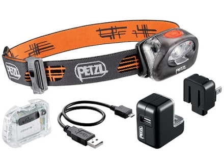 Petzl Tikka XP 2 Core Headlamp CORE Rechargeable Battery Polymer Black and Orange