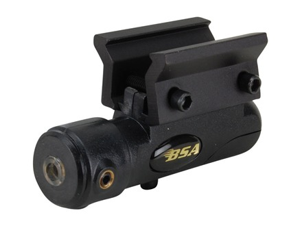 BSA Red Laser Sight with Weaver-Style Mount Matte