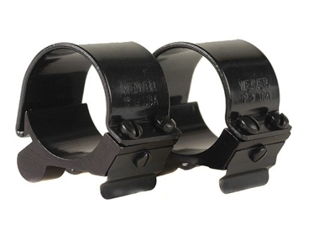 "Weaver 1"" Pivot-Mount Rings Gloss"
