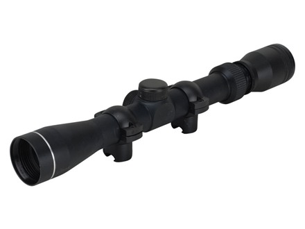 Tasco MAG 22 Rimfire Rifle Scope 3-9x 32mm 30-30 Reticle Matte with Rings
