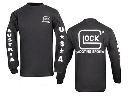 Glock T-Shirt Long Sleeve Cotton
